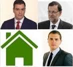 PP, PSOE y Ciudadanos apuestan por la rehabilitación y la vivienda protegida