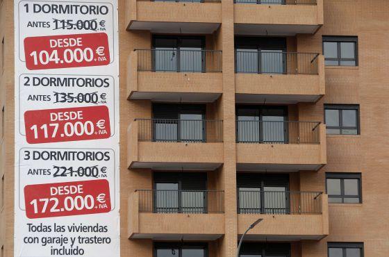 La vivienda sube el 1,8 % en 2014 y rompe con seis años a la baja