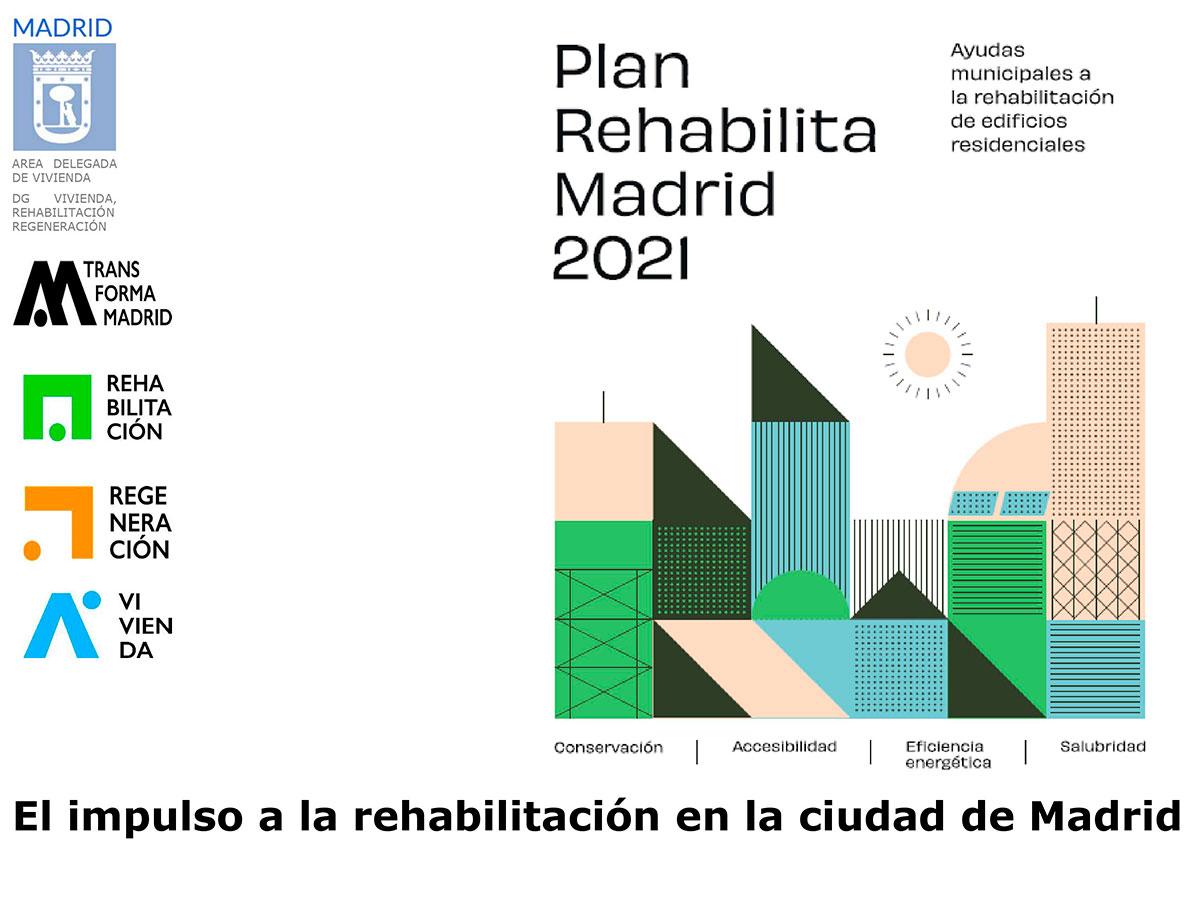 Plan Rehabilita Madrid 2021
